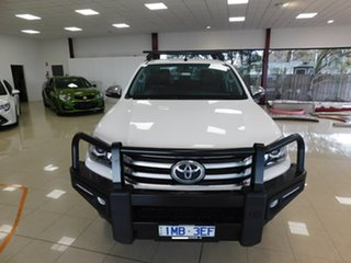 2015 Toyota Hilux GUN126R SR5 White Sports Automatic.