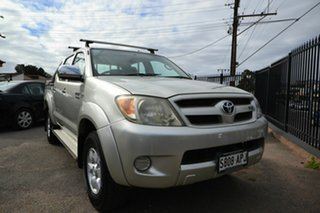 2005 Toyota Hilux GGN25R SR5 (4x4) Silver 5 Speed Manual Dual Cab Pick-up