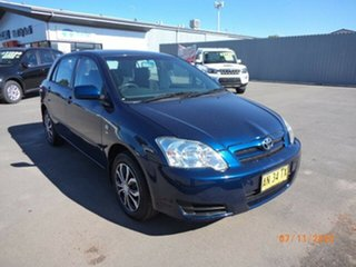 2006 Toyota Corolla ZZE122R MY06 Conquest Seca Blue Metallic 4 Speed Automatic Hatchback