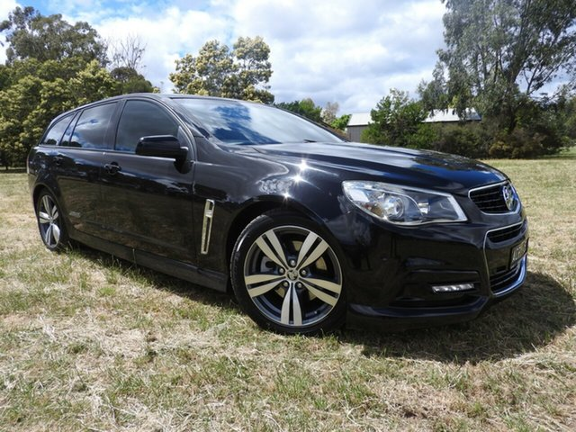 Used Holden Commodore Bendigo, Holden Commodore SS Black Automatic Wagon