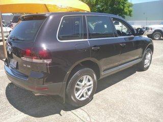 2007 Volkswagen Touareg 7L MY08 V6 TDI 4Xmotion Black 6 Speed Sports Automatic Wagon