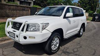 2013 Toyota Landcruiser URJ202R MY13 GXL White 6 Speed Sports Automatic Wagon.