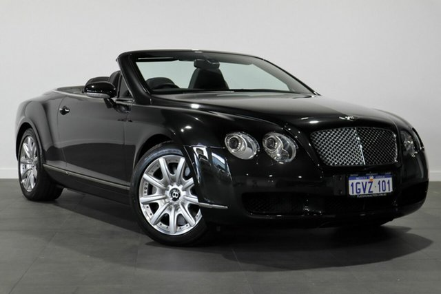 Used Bentley Continental 3W GTC Bayswater, 2007 Bentley Continental 3W GTC Black 6 Speed Sports Automatic Convertible