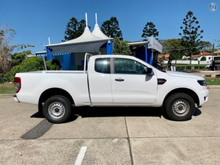 2020 Ford Ranger PX MkIII 2020.25MY XL Arctic White 6 Speed Sports Automatic Super Cab Pick Up