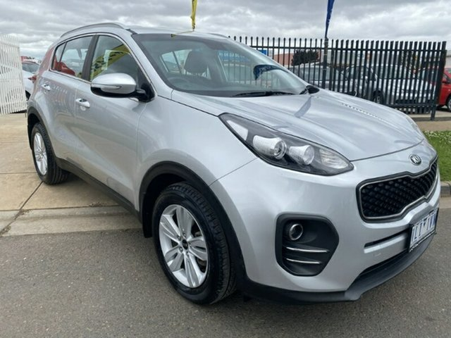 Used Kia Sportage QL MY16 Si 2WD Melton, 2016 Kia Sportage QL MY16 Si 2WD Silver 6 Speed Sports Automatic Wagon