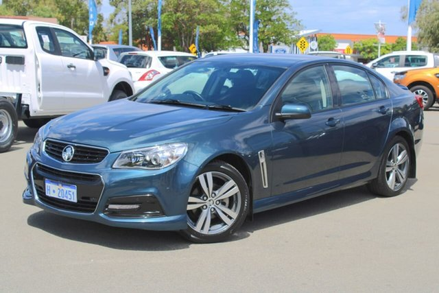 Used Holden Commodore VF MY14 SV6 Midland, 2013 Holden Commodore VF MY14 SV6 Blue 6 Speed Sports Automatic Sedan