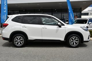 2020 Subaru Forester S5 MY21 2.5i CVT AWD Crystal White 7 Speed Constant Variable Wagon
