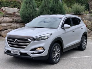 2016 Hyundai Tucson TLE Elite 2WD Silver 6 Speed Sports Automatic Wagon.