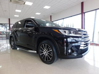 2018 Toyota Kluger GSU55R Grande AWD Black 8 Speed Sports Automatic Wagon.