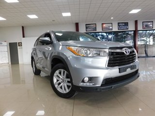 2016 Toyota Kluger GSU50R GX 2WD Silver 8 Speed Sports Automatic Wagon.