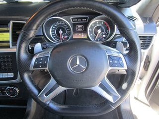 2012 Mercedes-Benz M-Class W166 ML63 AMG SPEEDSHIFT DCT White 7 Speed Sports Automatic Dual Clutch