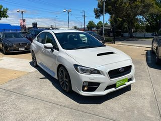2016 Subaru WRX V1 MY17 AWD White 6 Speed Manual Sedan.