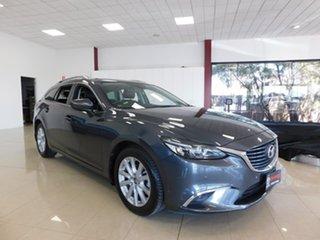 2016 Mazda 6 GJ Series 2 Touring Grey Sports Automatic.