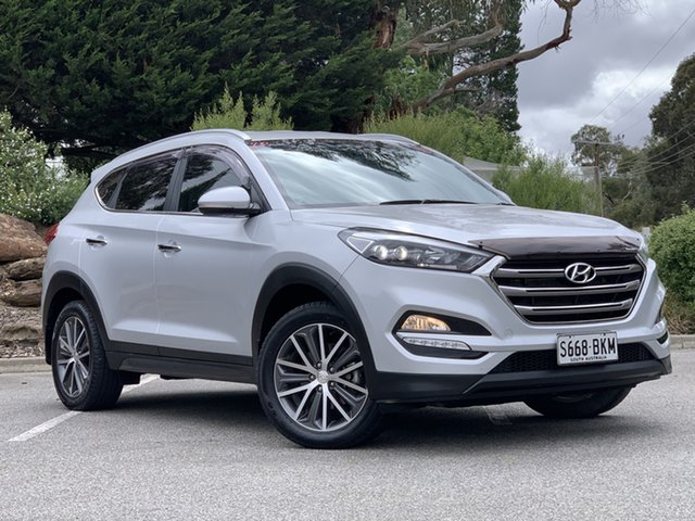 Used Hyundai Tucson TLE Elite 2WD Totness, 2016 Hyundai Tucson TLE Elite 2WD Silver 6 Speed Sports Automatic Wagon