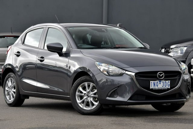 Used Mazda 2 DJ2HA6 Maxx SKYACTIV-MT Moorabbin, 2018 Mazda 2 DJ2HA6 Maxx SKYACTIV-MT Grey 6 Speed Manual Hatchback