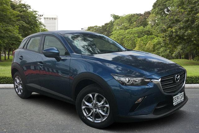 Demo Mazda CX-3 DK2W7A Maxx SKYACTIV-Drive FWD Sport Paradise, 2020 Mazda CX-3 DK2W7A Maxx SKYACTIV-Drive FWD Sport Eternal Blue 6 Speed Sports Automatic Wagon