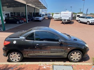 2005 Peugeot 206 Black 5 Speed Manual Coupe