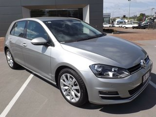 2013 Volkswagen Golf VII 103TSI DSG Highline 7 Speed Sports Automatic Dual Clutch Hatchback.
