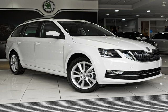New Skoda Octavia NE MY20.5 110TSI DSG Seaford, 2020 Skoda Octavia NE MY20.5 110TSI DSG White 7 Speed Sports Automatic Dual Clutch Wagon