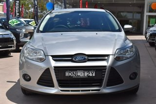2011 Ford Focus LW Sport PwrShift Silver 6 Speed Sports Automatic Dual Clutch Hatchback.