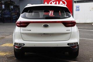 2020 Kia Sportage QL MY20 SX AWD Clear White 8 Speed Sports Automatic Wagon.