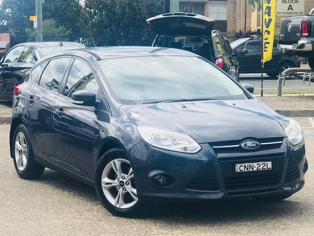 Used Ford Focus LW MkII Trend PwrShift Liverpool, 2013 Ford Focus LW MkII Trend PwrShift Grey 6 Speed Sports Automatic Dual Clutch Hatchback
