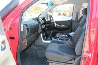 2013 Nissan Navara D40 MY12 ST (4x4) Red 6 Speed Manual Dual Cab Pick-up