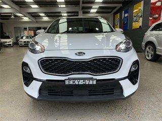 2019 Kia Sportage QL Si Premium Clear White Sports Automatic Wagon.