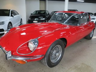 1972 Jaguar E-Type Series 3 2+2 Red 4 Speed Manual Coupe