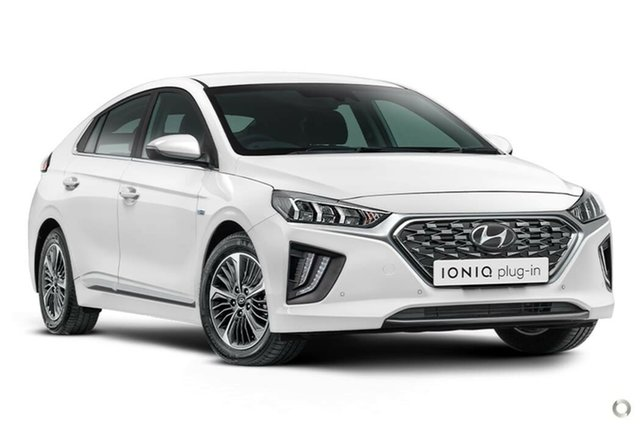 New Hyundai Ioniq AE.3 MY20 plug-in DCT Premium Nailsworth, 2020 Hyundai Ioniq AE.3 MY20 plug-in DCT Premium Polar White 6 Speed Sports Automatic Dual Clutch