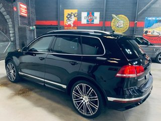 2015 Volkswagen Touareg 7P MY16 V8 TDI Tiptronic 4MOTION R-Line Black 8 Speed Sports Automatic Wagon