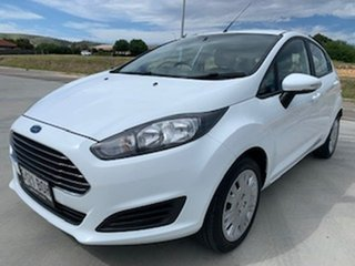 2016 Ford Fiesta WZ Ambiente White 5 Speed Manual Hatchback.