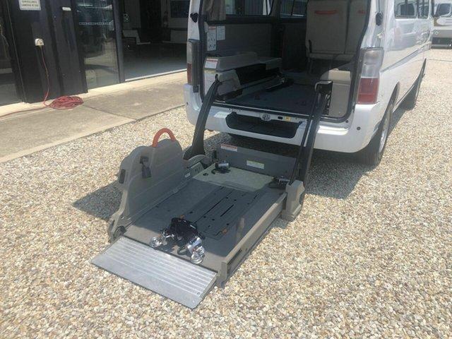 Used Nissan Caravan Arundel, 2012 Nissan Caravan NV350 Hydrolic wheelchair lift White 4 Speed Automatic Van