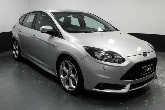Used Ford Focus LW MkII ST Rutherford, 2013 Ford Focus LW MkII ST Silver 6 Speed Manual Hatchback