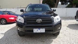 2008 Toyota RAV4 ACA33R MY08 Cruiser Black 4 Speed Automatic Wagon.