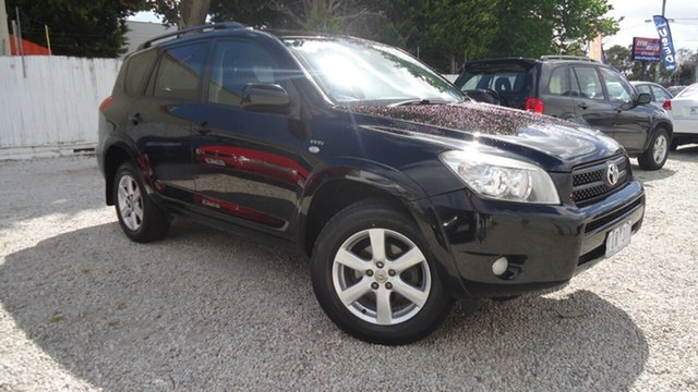 Used Toyota RAV4 ACA33R MY08 Cruiser Seaford, 2008 Toyota RAV4 ACA33R MY08 Cruiser Black 4 Speed Automatic Wagon