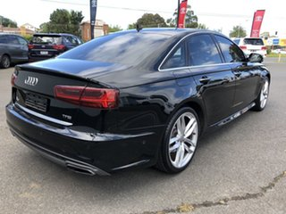 2015 Audi A6 4G MY15 S Line S Tronic Black 7 Speed Sports Automatic Dual Clutch Sedan