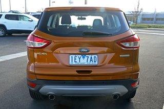 2015 Ford Kuga TF MY15 Ambiente 2WD Orange 6 Speed Sports Automatic Wagon