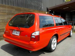 2004 Ford Falcon BA XT Red 4 Speed Sports Automatic Wagon.