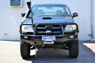 2005 Toyota Hilux KUN26R MY05 SR Black 4 Speed Automatic Utility.