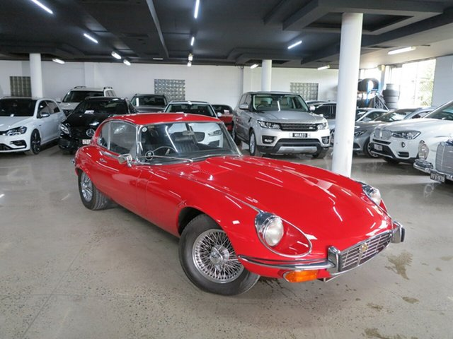 Used Jaguar E-Type Series 3 2+2 Albion, 1972 Jaguar E-Type Series 3 2+2 Red 4 Speed Manual Coupe