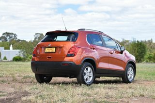 2016 Holden Trax TJ MY16 LS Orange 6 Speed Automatic Wagon