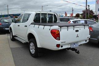2015 Mitsubishi Triton MN MY15 GLX (4x4) White 4 Speed Automatic 4x4 Double Cab Utility.