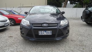 2012 Ford Focus LW Trend PwrShift Grey 6 Speed Sports Automatic Dual Clutch Hatchback.