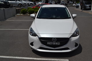 2015 Mazda 2 DJ2HAA Neo SKYACTIV-Drive White 6 Speed Sports Automatic Hatchback.