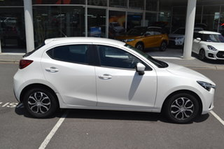 2015 Mazda 2 DJ2HAA Neo SKYACTIV-Drive White 6 Speed Sports Automatic Hatchback