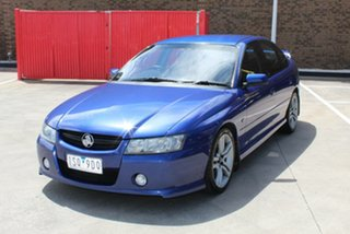 2005 Holden Commodore VZ SV6 Blue 5 Speed Auto Active Select Sedan.
