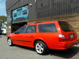 2004 Ford Falcon BA XT Red 4 Speed Sports Automatic Wagon