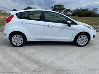 2016 Ford Fiesta WZ Ambiente White 5 Speed Manual Hatchback