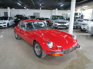 1972 Jaguar E-Type Series 3 2+2 Red 4 Speed Manual Coupe.